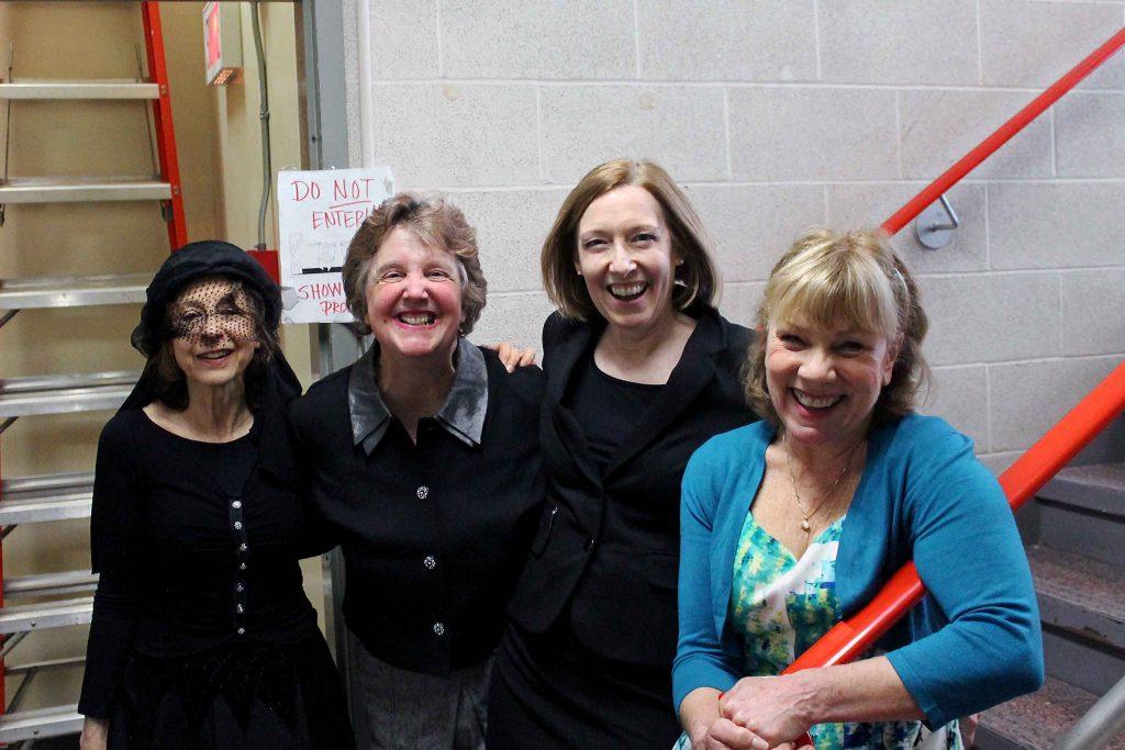 Sylvia Cymbalista, Colleen Curran, Mary Burns, Jane Hackett