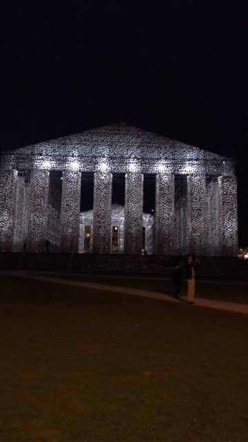 The Parthenon of (Forbidden) Books